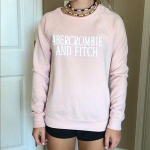 Abercrombie sweatshirt, rose color